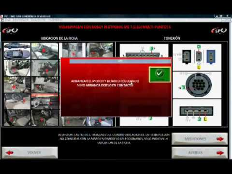 VIDEO DEMO DEL SCANNER AUTOMOTRIZ INTELIGENTE SPC MAX.
