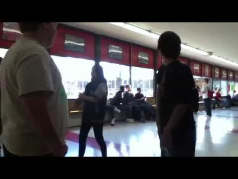 Dude Gets Flipped at Port Huron High School