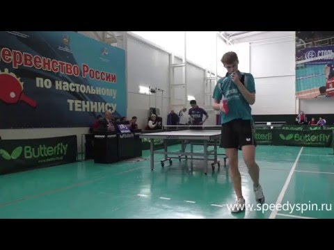 Russian Junior Table Tennis Championship 2016. Assorty4. HD.