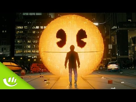 Adam Sandler und Peter Dinklage gegen Pac-Man (Pixels) - Thought of the Day