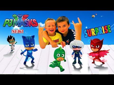 ГЕРОИ В МАСКАХ! Распаковка новых сюрпизов! Видео для детей! Собираем полную коллекцию!