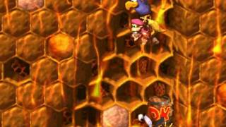 Donkey Kong Country 2 102% Walkthrough : Gloomy Gulch - Parrot Chute Panic