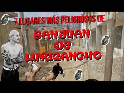 7 lugares más peligrosos en San Juan de Lurigancho