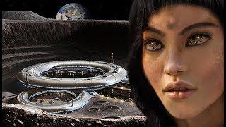 Mujer Extraterrestre descubierta en una Ciudad en la Luna ¿Es la Luna creada por extraterrestres?