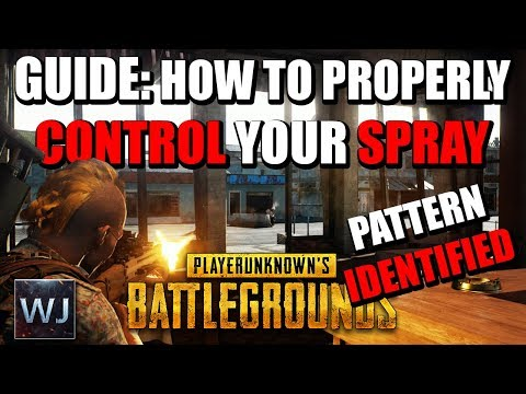 GUIDE: How to PROPERLY Control Your SPRAY / BURST - PLAYERUNKNOWN's BATTLEGROUNDS (PUBG)