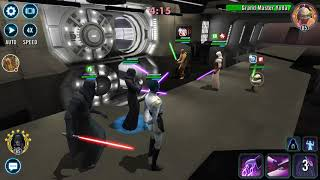Grand Arena 3v3 round 2 - Roster mismatch, facing opponent without Sith Empire