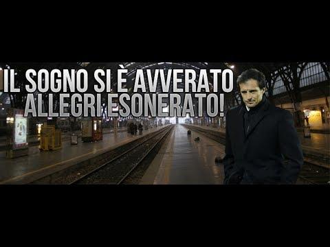 MASSIMILIANO ALLEGRI ESONERATO!!!!!