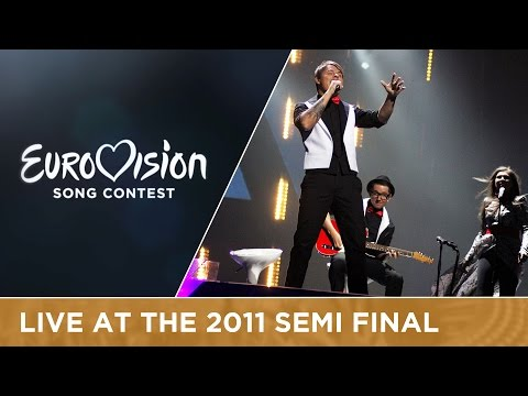 Musiqq - Angel In Disguise (Latvia) Live 2011 Eurovision Song Contest