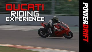 DRE Track Days India with Panigale V4S : Upgrade for the rider : PowerDrift