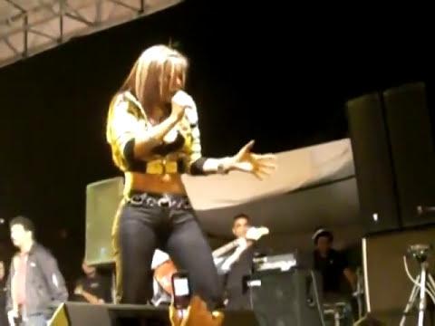 Scarlet Linarez en las Ferias y Fiestas de Canoabo 2009.