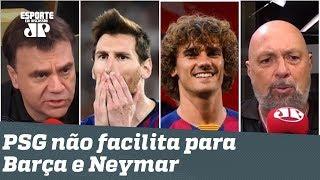 """""""Messi quer Neymar, mas Suárez abraçou o Griezmann!"""" Veja DEBATE!"""