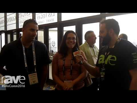 InfoComm 2016: Nik Nepomuceno Interviews Juliana and André Borba About InfoComm 2016