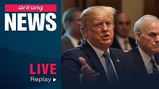 "[LIVE/ARIRANG NEWS] Trump highlights ""tremendous progress"" made with N. Korea, adding..."