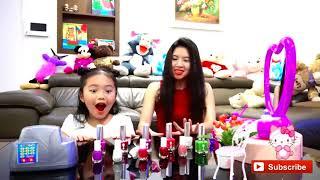 الاطفال يتظاهرون باللعب بأشكال مضحكة | أغاني أغاني الحضانة للأطفال | Ktrv Funny Songs for Kids