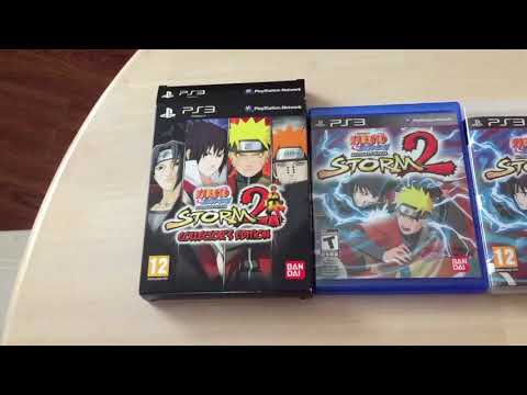 Naruto Storm 2 Collectors Edition unboxing/comparison