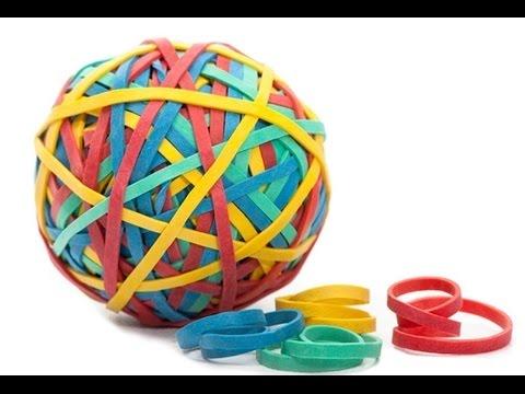 Мячик из резинок своими руками