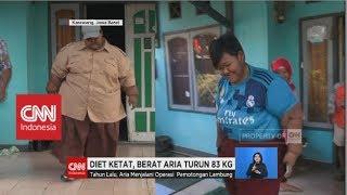 Dapat Tips dari Ade Rai, Berat Badan Aria Turun 83 Kg - Bakar Lemak ala Aria