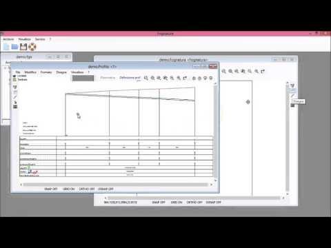 Definizione dei profili in planimetria