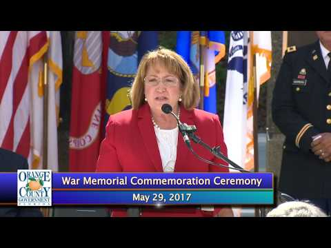 Orange County Annual War Memorial Commemoration Ceremony