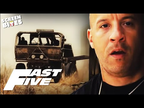 Fast Five - Paul Walker and Jordana Brewster epic desert scene...