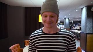 17.11.2016 Haastattelussa Jasper Lindsten
