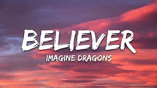 Download Lagu Imagine Dragons - Believer (Lyrics / Lyric Video) Gratis STAFABAND
