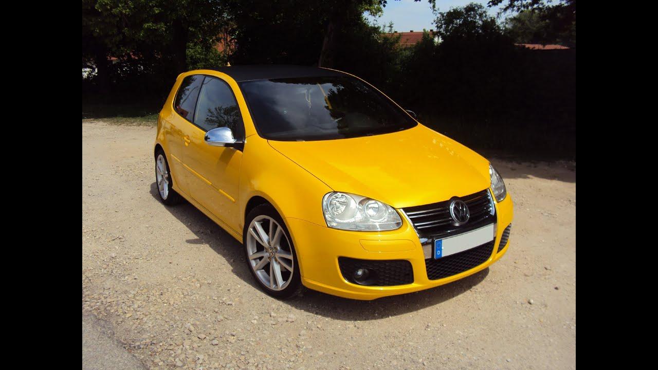 Golf Yellow Speed der 7 von 100 ( Golf R32 ) HD ( Lambo-Farben ) HD - YouTube