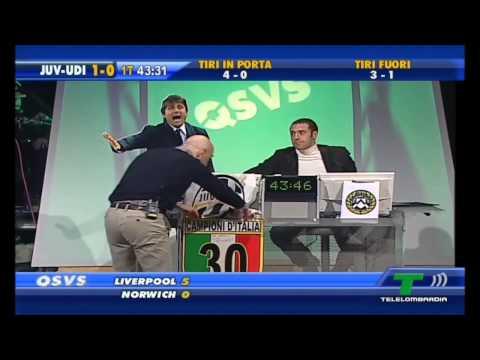 QSVS - il momento dei gol di Juventus - Udinese 4 - 0 (TeleLombardia)