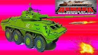 ARMADA WORLD OF MODERN TANKS #21 Мульт танки Онлайн игра Боевые машинки.Бои танков Видео для детей
