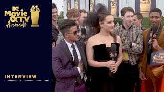 '13 Reasons Why' Cast Reveal Their Favorite TV Shows | 2018 MTV Movie & TV Awards