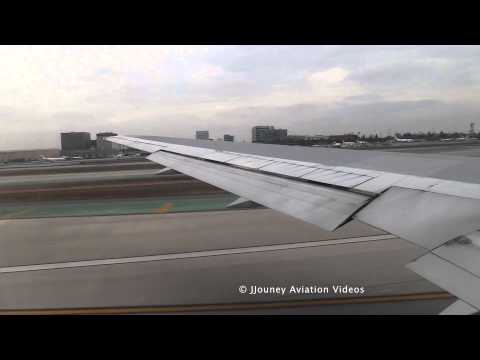 Boeing 767- Heavy Takeoff from LAX