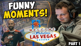 DREAMHACK LAS VEGAS 2017 - FUNNY PRO MOMENTS! Part 1