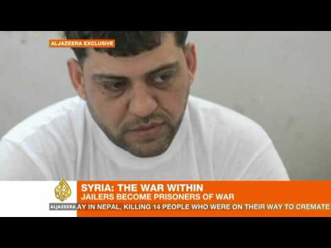 Jailers in Syria's Aleppo become prisoners of war