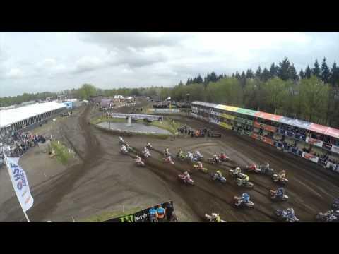 Tim Gajser & Ben Watson Crash Mxgp Of Europe 2015 - Motocross video