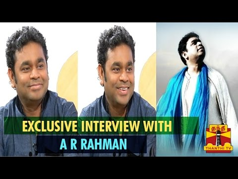 Recut Of Exclusive Interview With A R Rahman - Thanthi TV