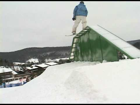 Holday Valley Rail Jam 12/15/07 Video