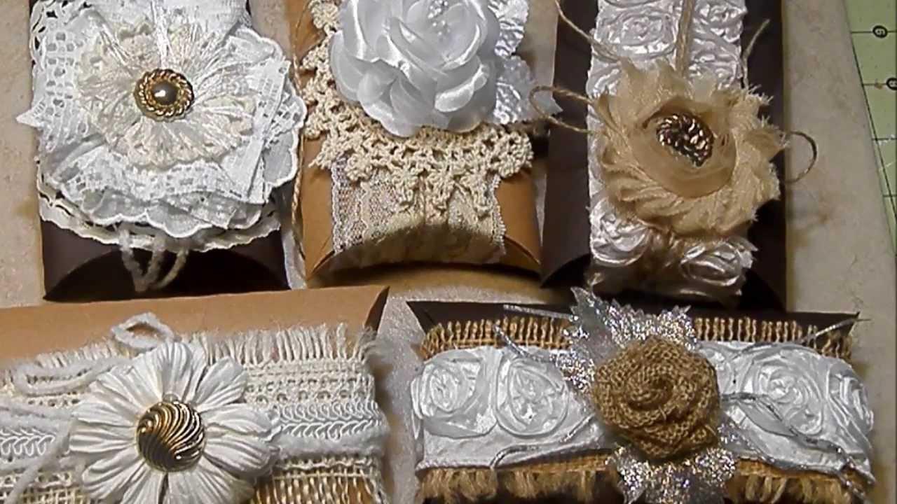 VintageElegant Pillow BoxesGift Boxes YouTube