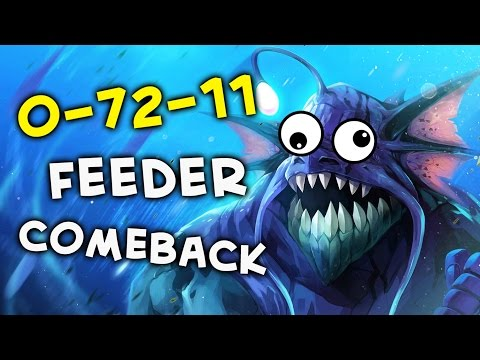 Comeback with 0-72-11 feeder in team