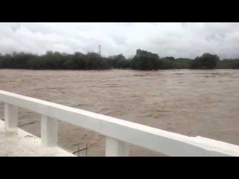 Puente rio purificacion impresionante!