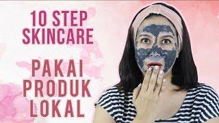 10 Step Skincare Routine Feat. Skincare Lokal | Skincare 101