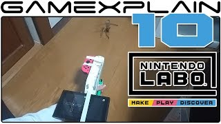 10 Amazing Nintendo Labo Creations! (Toy-Con Garage & Piano)