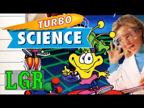 LGR - Turbo Science - DOS PC Game Review