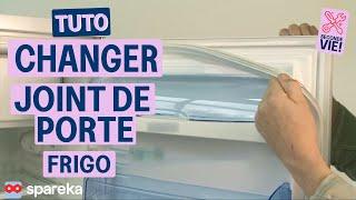 Remplacer le joint de porte de votre réfrigérateur