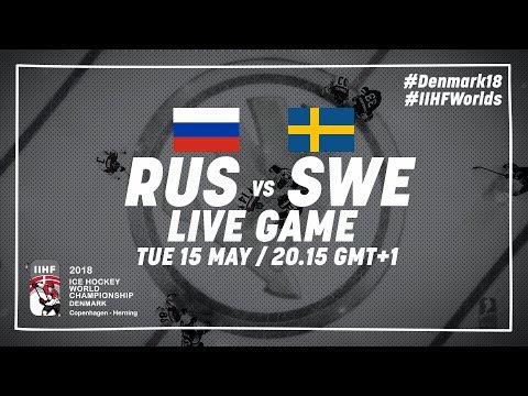 Russia - Sweden | Live | 2018 IIHF Ice Hockey World Championship