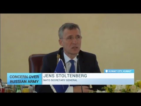 Concern Over Russian Army: NATO chief warns of Russian military build-up in Syria