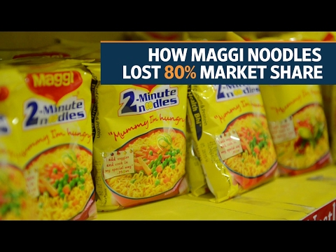 The Maggi ban: How India's favourite two-minute noodles lost 80% market share