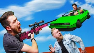 DONT Get Crushed By The Deadly Hovercar! | GTA5