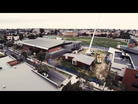 Prebuilt Commercial - Caulfield Grammar Learning Centre installation at Caulfield campus