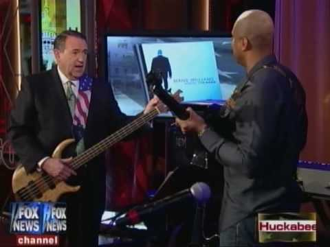 Bernie Williams on the Mike Huckabee Show