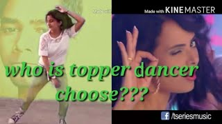 Dance of two dancers, you select whos is batter dancer